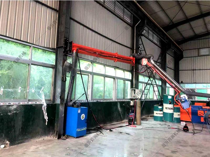 工業設備機械行業環保焊機焊接二保焊凈化器配套懸臂架非標定制品