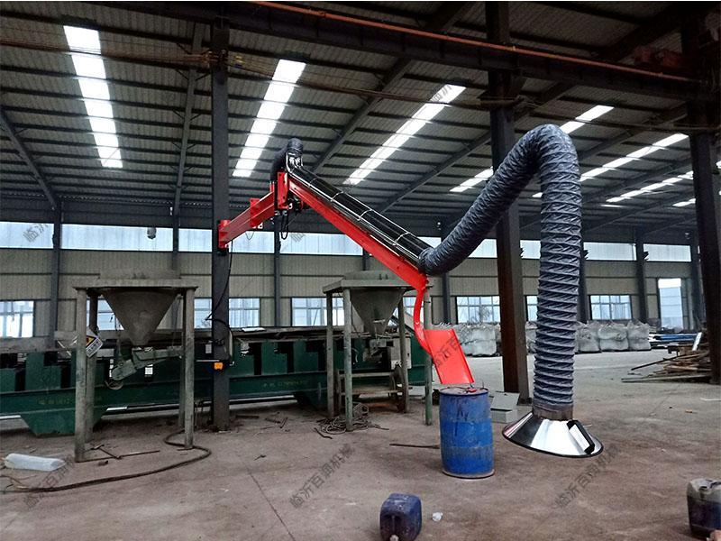 優質的液壓式智能吸塵臂配套吸塵除塵風管焊接無死角高效凈化