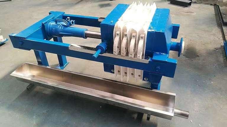 節能型壓濾機手動千斤頂壓濾機板框壓濾機