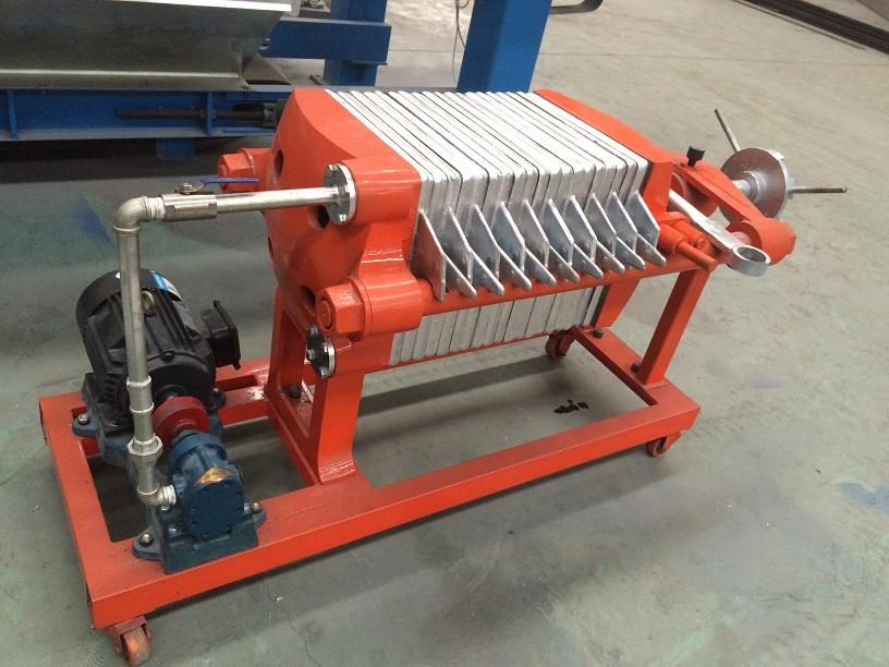 電控機械壓濾機板框式鑄鐵壓濾機價格優惠