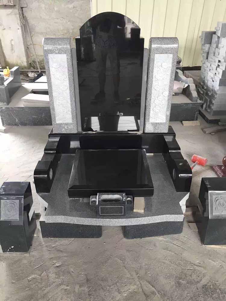 芝麻黑墓碑柱子|漳州物超所值-芝麻黑墓碑柱子