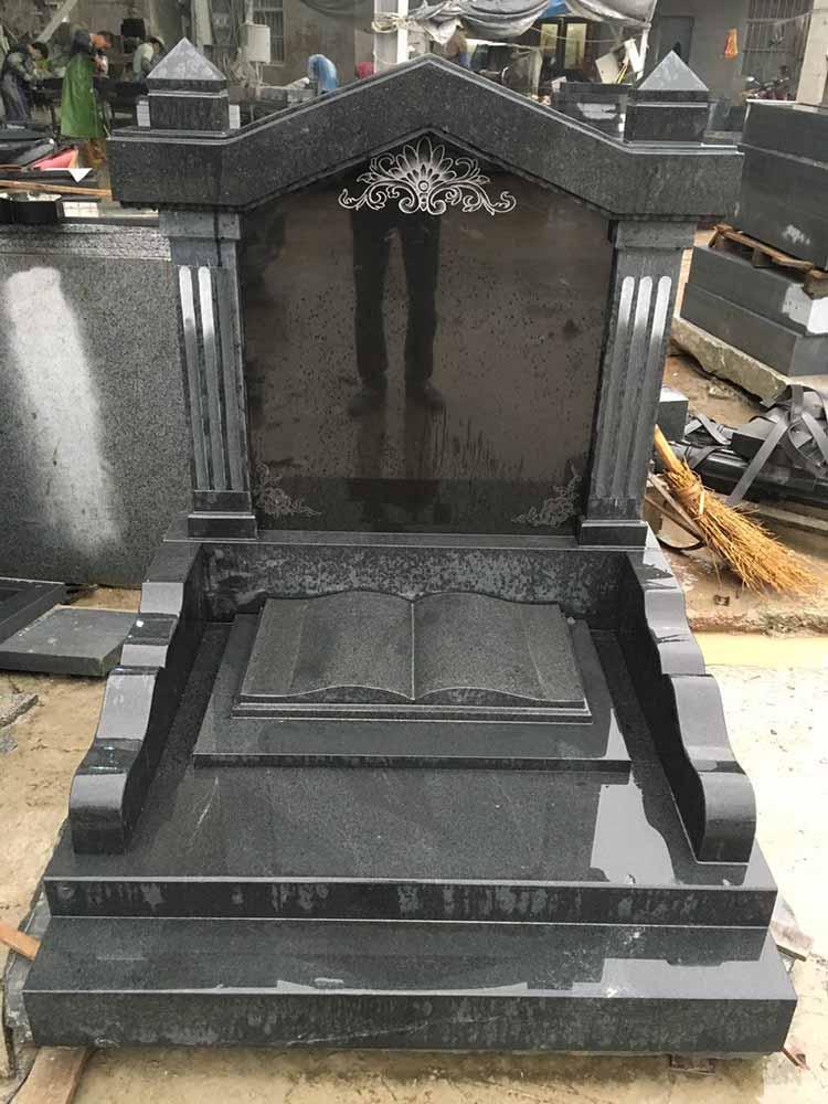 黑细花墓碑石-价格合理的黑细花墓碑石要到哪买