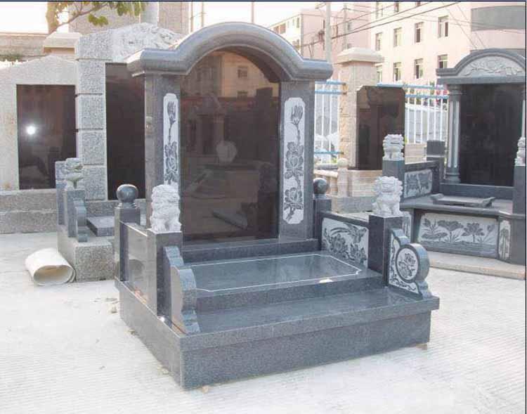 芝麻黑墓碑批发|为您推荐连瑞工贸销量好的芝麻黑654墓碑料