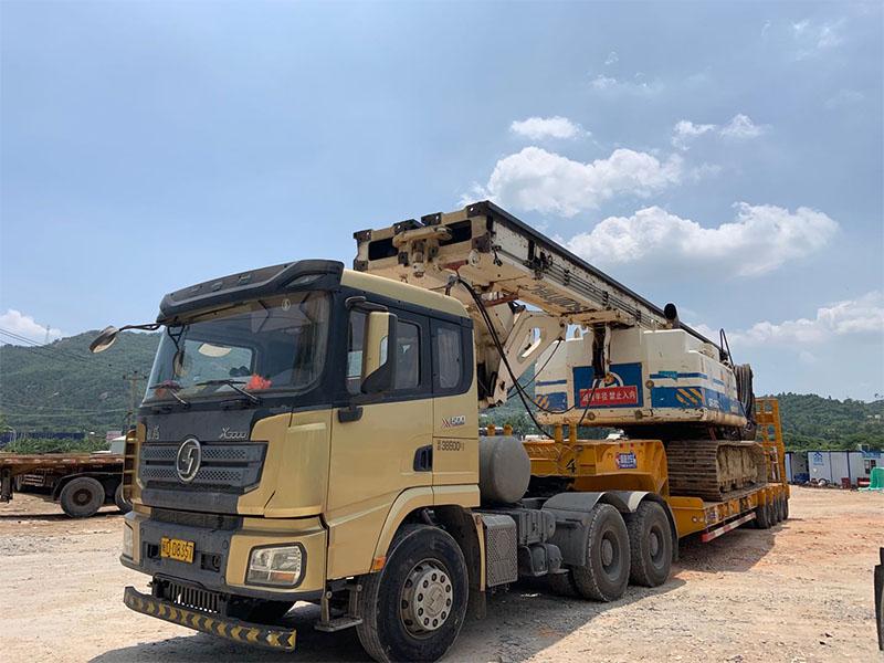 物流货运公司-上海到石家庄大件运输-大件运输挂车图片