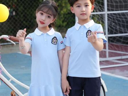 惠安中学校服厂家|合格的惠安校服推荐