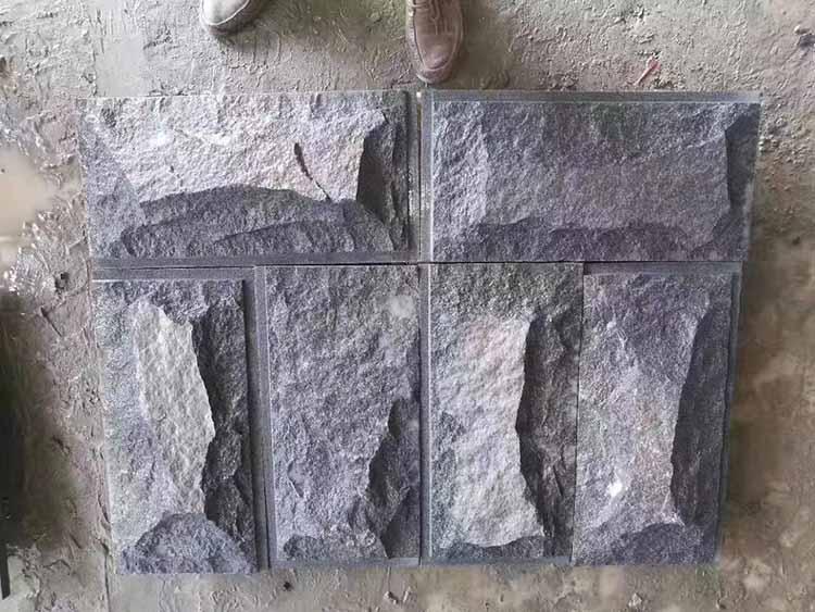 芝麻黑文化石背景墙-供应福建物超所值的芝麻黑文化石背景墙