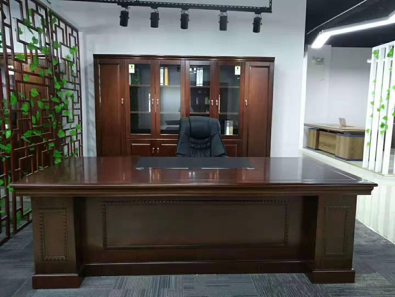 简易办公桌椅价格-想买班台选哪家好