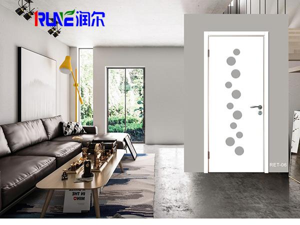 環保室內門報價_實惠的木塑室內門當選河北潤爾木塑
