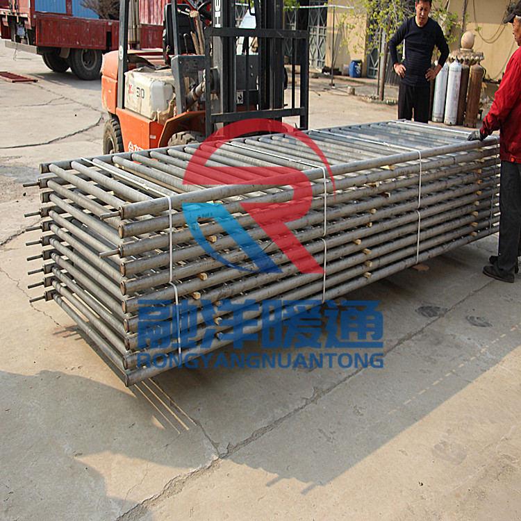GRS9-20高頻焊翅片管-融洋暖通提供優惠的導熱油翅片管散熱器
