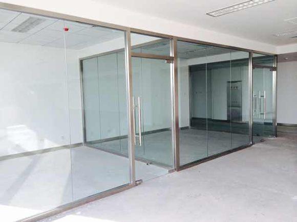 池州办公室隔断玻璃-玻璃隔断厂家-防火玻璃隔断
