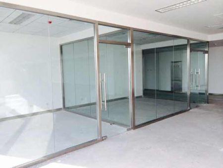 亳州办公室隔断玻璃-玻璃半墙隔断-办公玻璃隔断