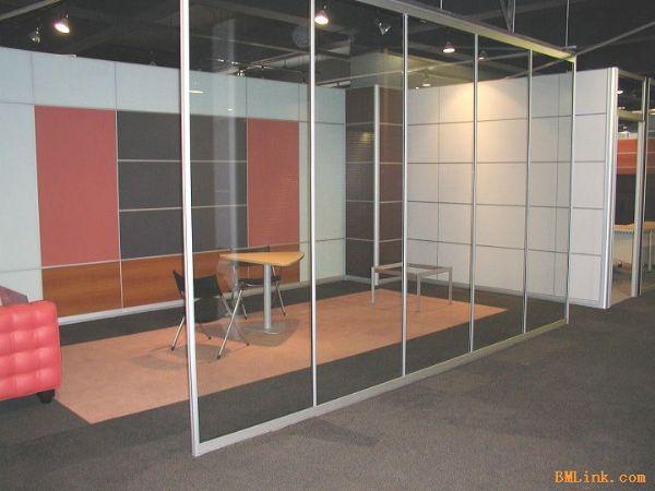 办公室隔断玻璃-玻璃隔墙办公室隔断多少钱一平米
