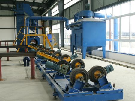 鋼管型材拋丸除銹設備供應-有品質的鋼管型材拋丸除銹設備在哪可以買到