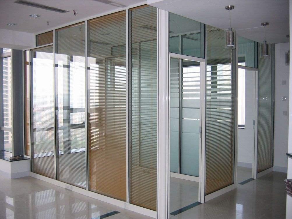 百葉玻璃隔斷-合肥百葉隔斷-合肥鋁合金隔斷