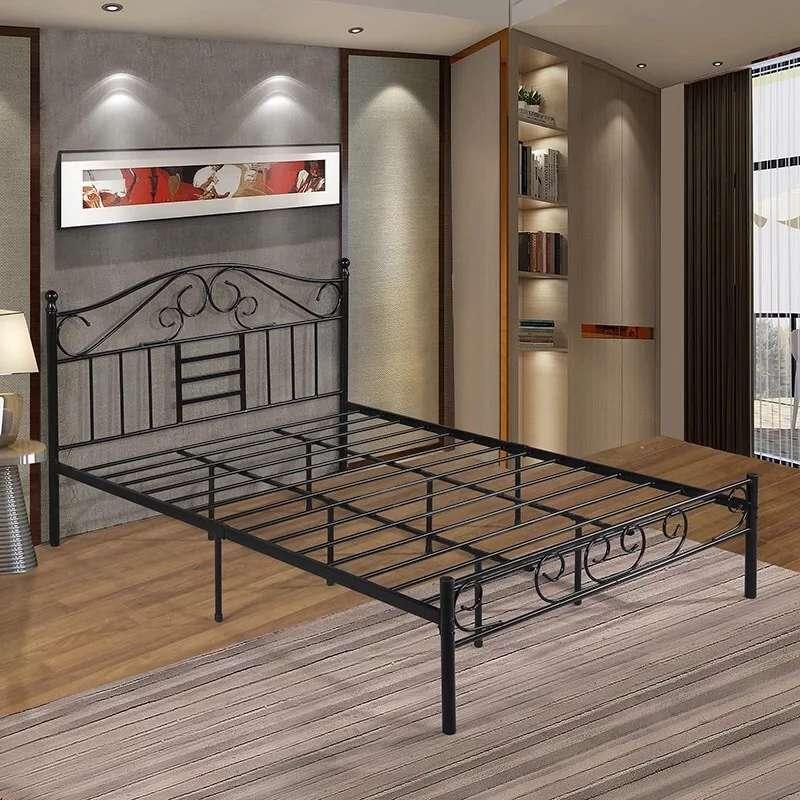 鐵藝床批發-東莞鐵床定做-自造鐵床