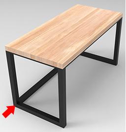 实木铁艺办公桌-铁艺办公桌低价批发-铁艺办公桌低价甩卖