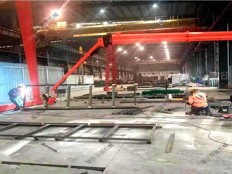 临沂百润大量供应矿山施工设备焊接吸气臂环保耐用型号齐全