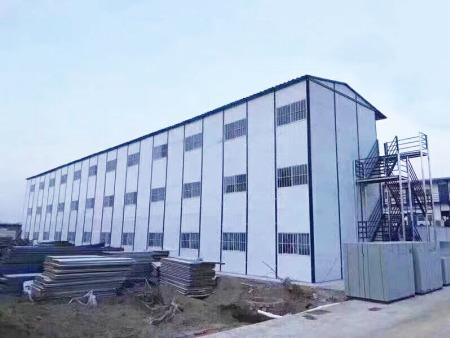 工地临建打包箱房厂家,防火装配式箱房,装配式箱房