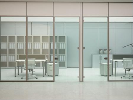 芜湖单层玻璃隔断墙|为您推荐合肥卓兴隔断不错的办公室单层玻璃隔断