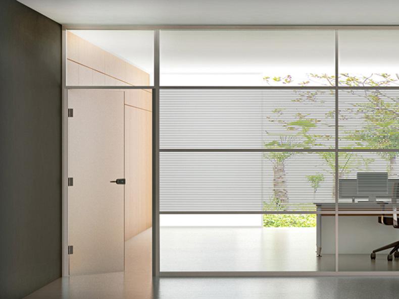 铝合金单层玻璃隔断-成品玻璃隔断-不锈钢玻璃隔断
