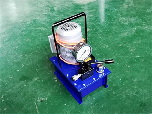欣力液压机具厂电动油泵供应商-六安电动油泵