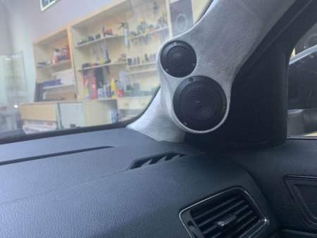 polo汽车音响改装-奥迪a3改装汽车音响