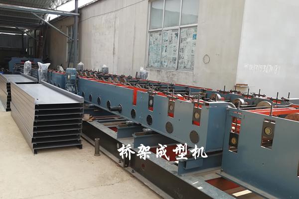 槽式电缆桥架成型机-槽式电缆桥架生产线定做