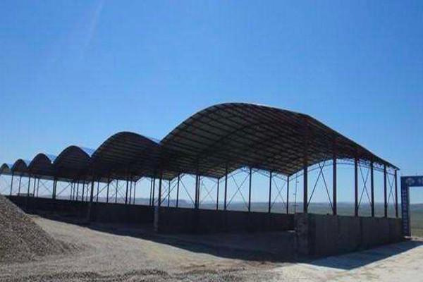 钢结构料棚厂-东营钢结构料�r于天眼睛一亮棚-石家庄钢结构料棚