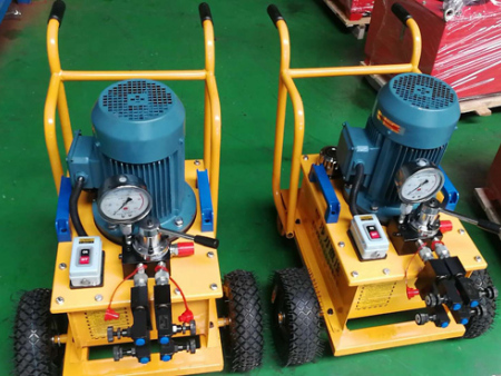 移动式电动干油泵yha一4OO-德州品牌好的移动式电动油泵出售