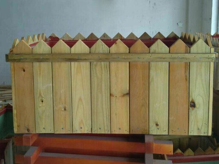 防腐木花箱哪家好,木制花箱厂家,木制花箱生产厂家
