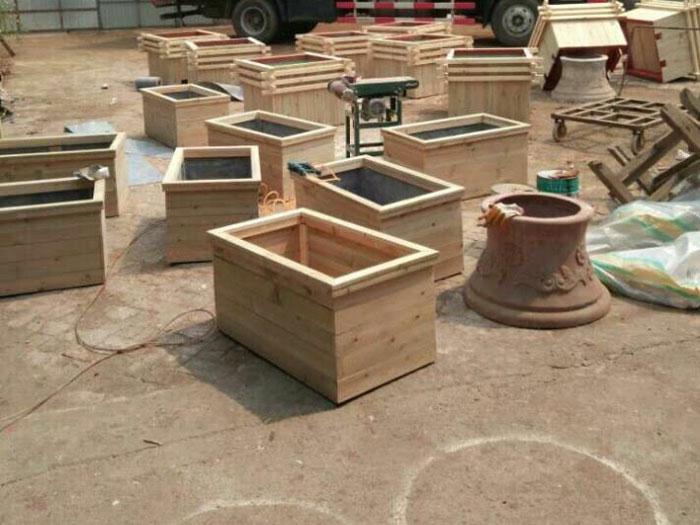 防腐木花盆生产厂家,防腐木花盆,防腐木花盆价格