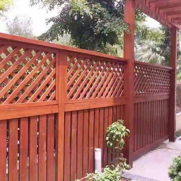 草坪防腐木圍欄-花園防腐木圍欄價格-花園防腐木圍欄哪家好