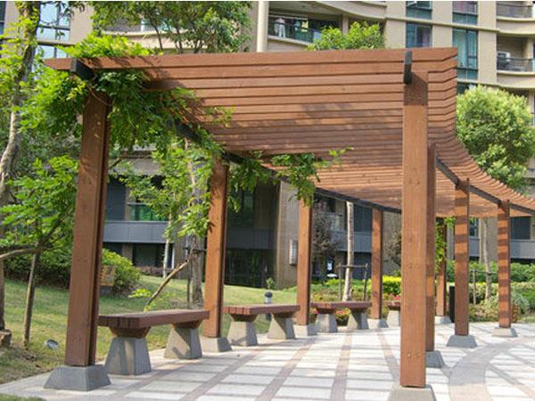 景观用塑木-安徽塑木景观-安庆塑木景观
