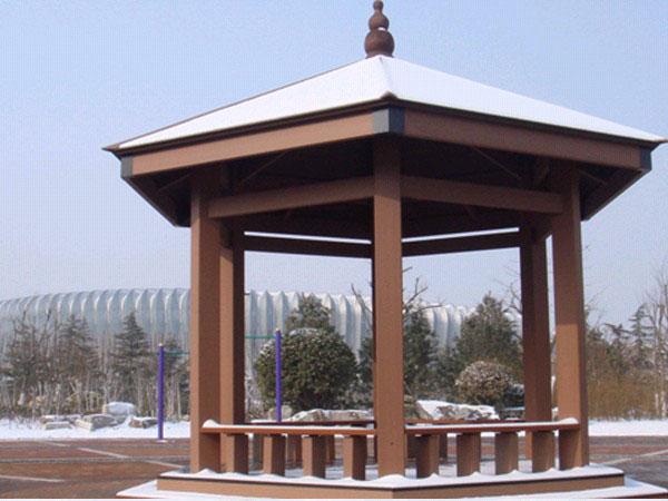 安徽塑木凉亭