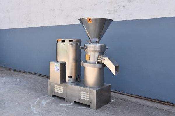 花生冷却磨酱机生产-杏核冷却磨酱机供货商