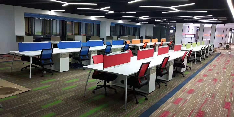 四人位員工桌-滁州辦公桌椅-阜陽辦公桌椅