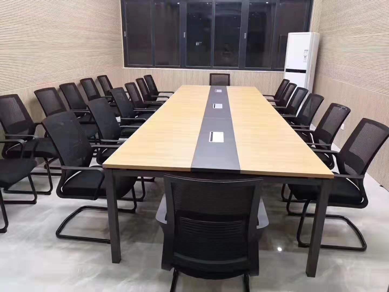 白钢会议桌-会议条桌-会议室条桌