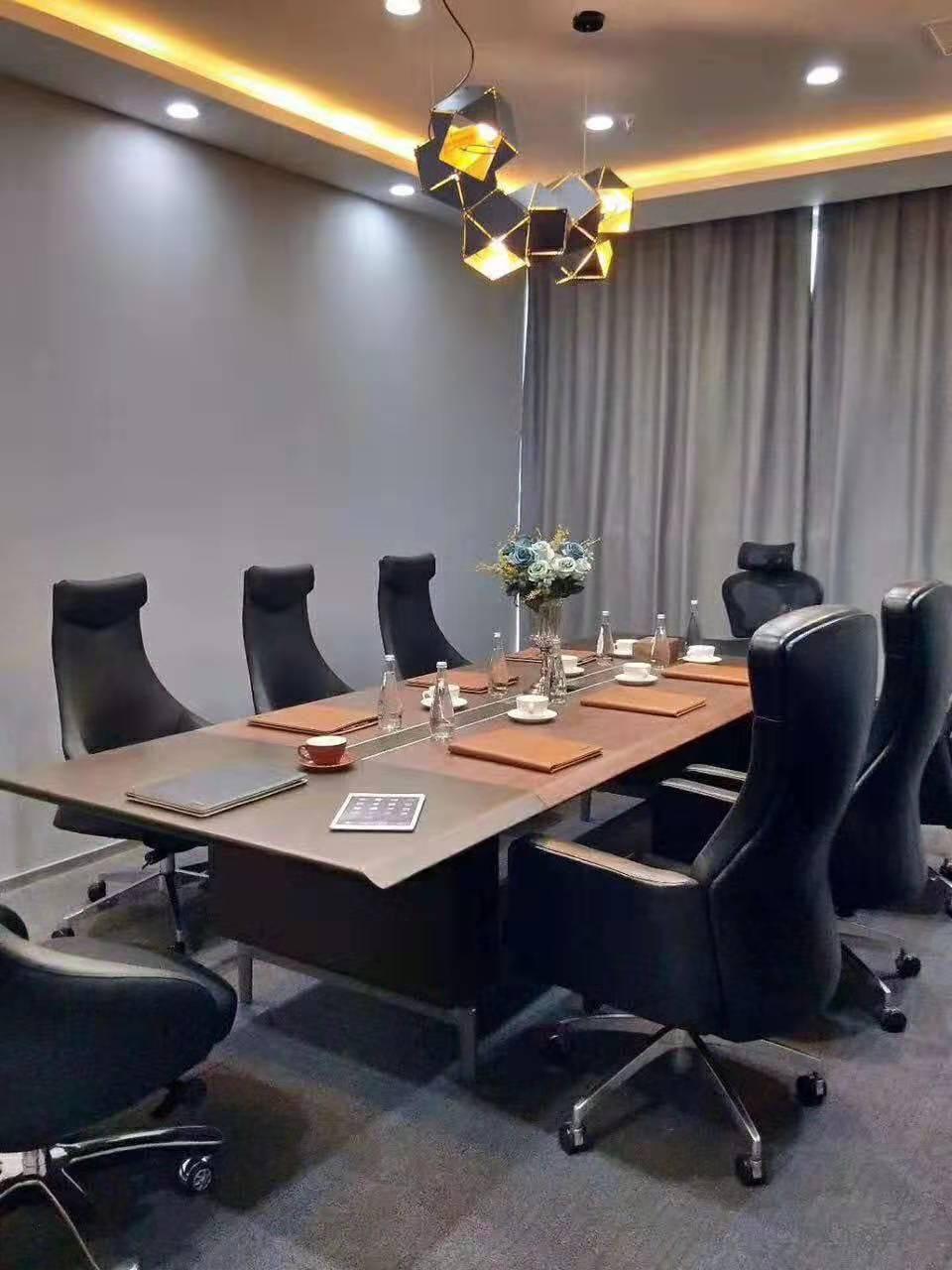 安徽办公室会议桌-十个人会议桌-长条型会议桌