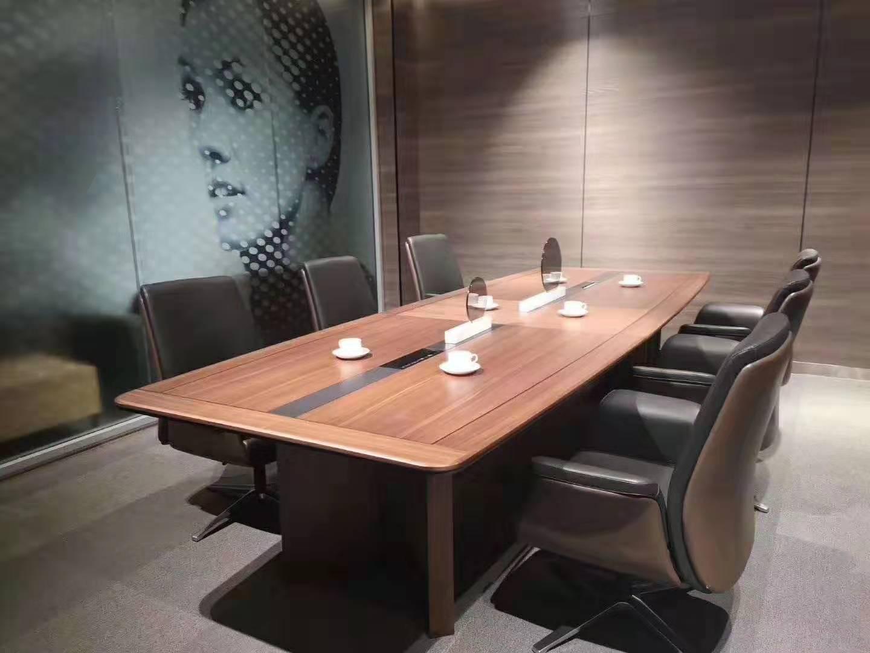 钢架会议桌-想买高性价会议桌就到合肥百胜亨通办公家具