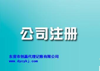 东营网上公司注册多少钱