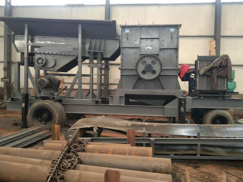 大型移动破碎机加工,大型移动破碎机订制,大型移动破碎机供货商