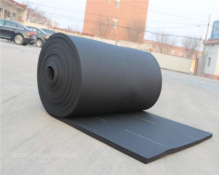 厂家供应B1级B2级橡塑保温板橡塑海绵板