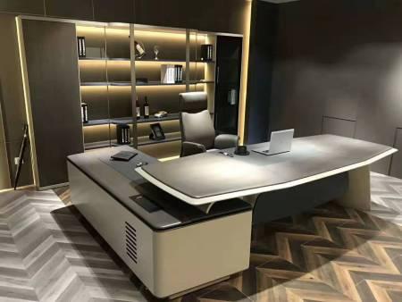 油漆班台三合一-宣城班台-安徽班台主管桌