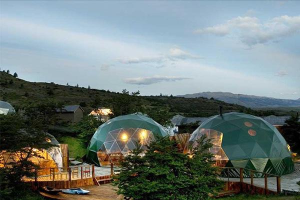 酒店膜结构帐篷设计-膜结构酒店帐篷价格