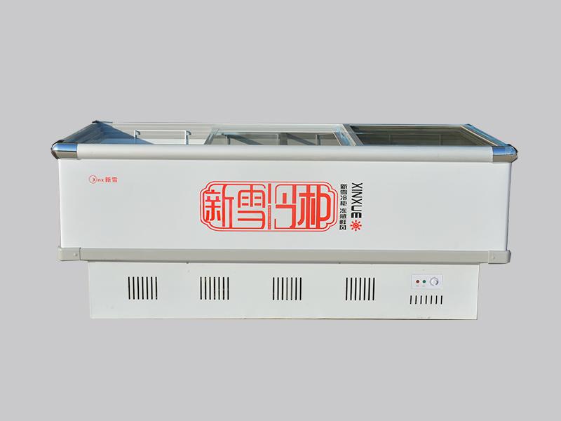海鲜柜生产厂家_物超所值的岛柜青岛新雪电器供应