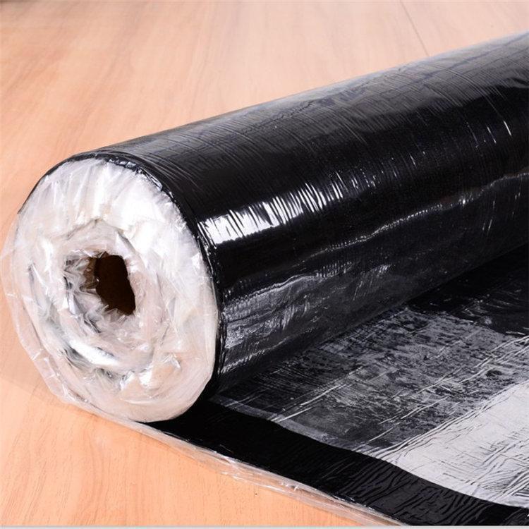 湿铺反应型高分子防水卷材价格-山东强力交叉膜防水卷材