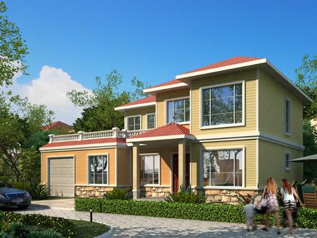 轻钢别墅优势|轻钢建筑房屋 轻钢结构别墅