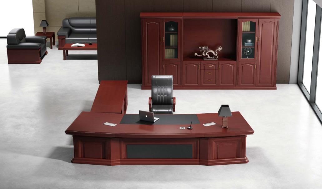 实木油漆老板桌BSHT-YQ003