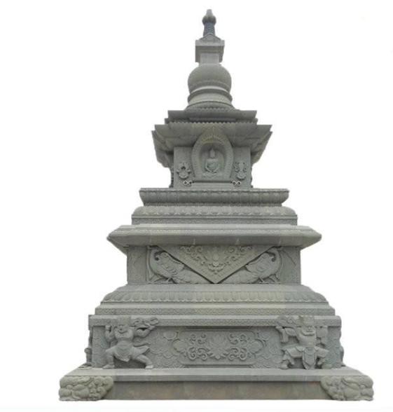 吉林石雕六角塔圖片,石雕七層塔哪家好