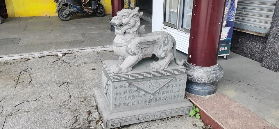 辽宁寺院石雕貔貅订做